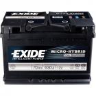 Exide Micro Hybrid ECM 70 (Start-Stop)